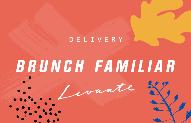 Brunch family grafic - Bistrot Levante Delivery - Barcelona