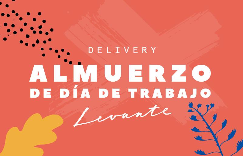 Almuerzo grafic - Bistrot Levante Delivery - Barcelona