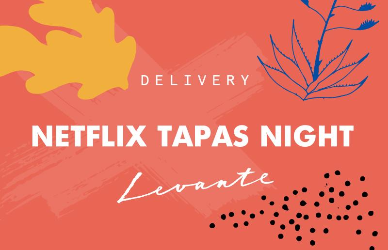 Netflix menu grafic - Bistrot Levante Delivery - Barcelona