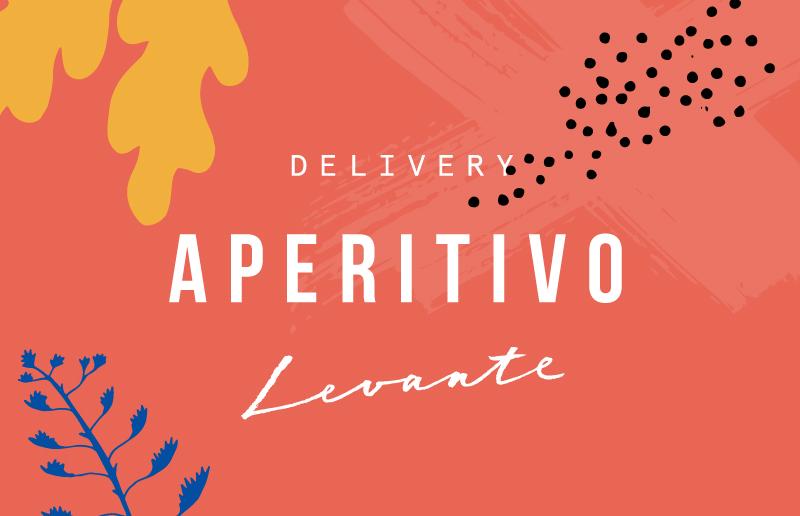 Aperitivo Menu grafic - Bistrot Levante Delivery - Barcelona